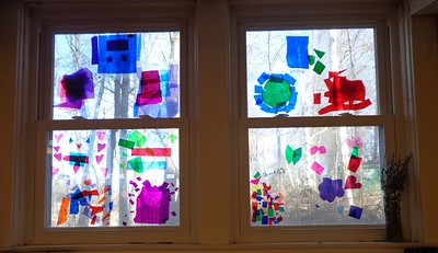 our stain glass windows