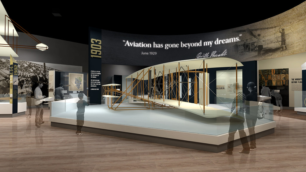 """""""Wright Brothers and the Invention of the Aerial Age"""" Gallery"""
