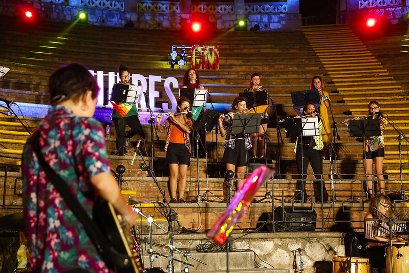 Festival Griego Mujeres 2021 en formato audiovisual