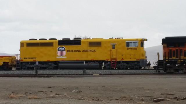UP MOW Locomotive