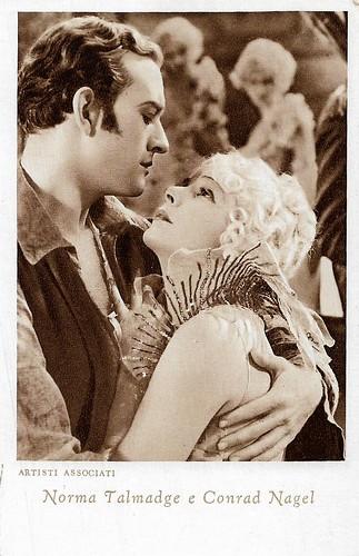 Conrad Nagel and Norma Talmadge