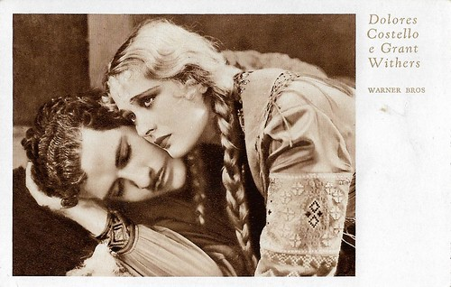Dolores Costello and Grant Withers in Hearts in Exile (1929)