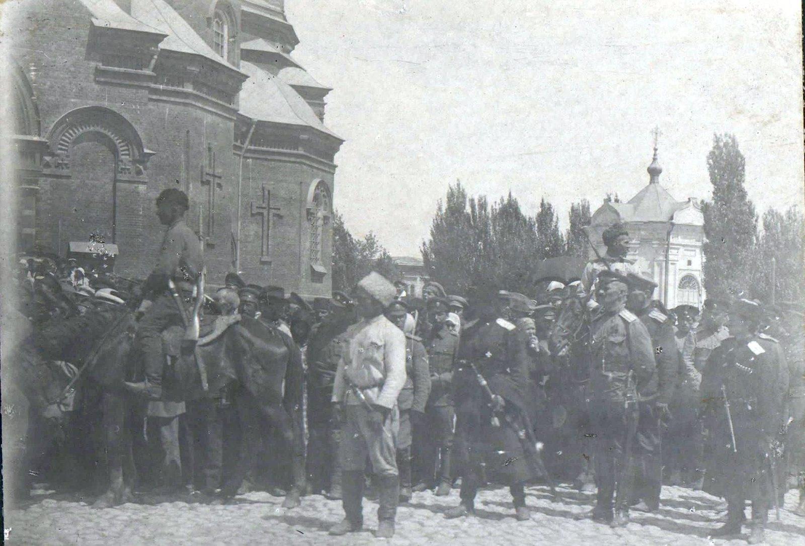 133. 1919. Парад войск в Царицыне