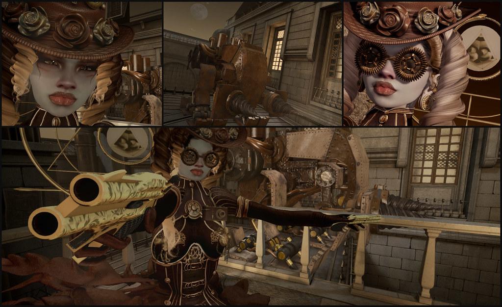 Steampunk Spy: Clementine's Symphony