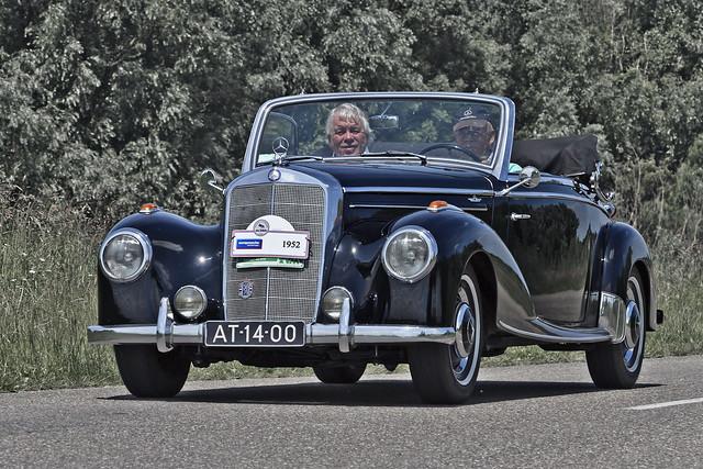 Mercedes-Benz 220 A Cabriolet 1952 (3915)