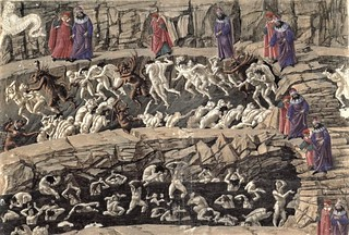 Sandro_Botticelli_-_Drawings_for_Dante´s_Divine_Comedy_-_Google_Art_Project | by heybraind