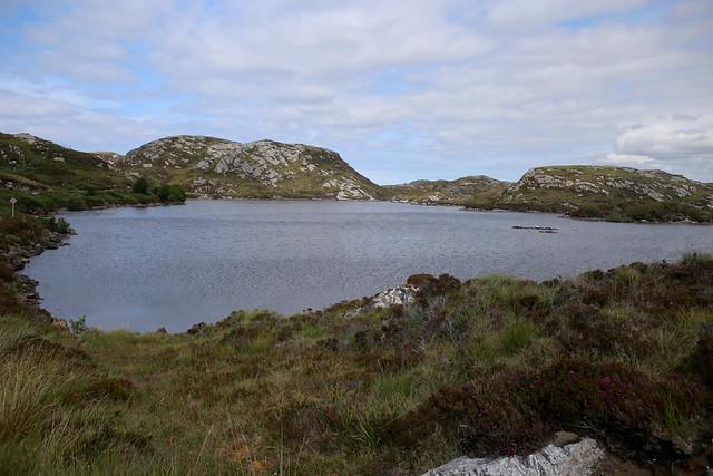 Loch na h-Airigh Glaise, Foindle