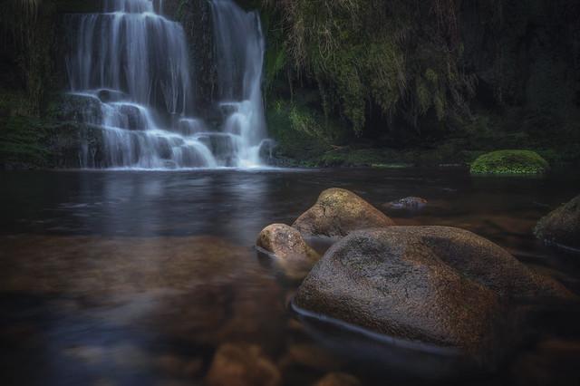 Peak District Waterfall