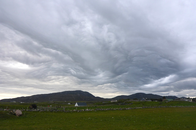 Unusual clouds at Durness