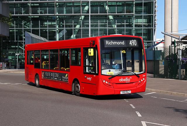 Route 490, Abellio London, 8787, YX12DLZ