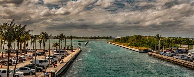Panorama Boynton Beach Inlet South Florida