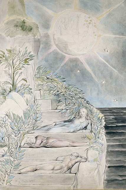 William-Blake-Dante-and-Statius-sleep-while-Virgil-watches-from-Purgatorio-VXVii-1824