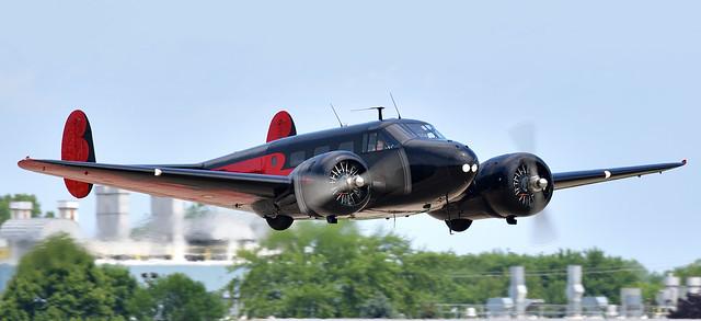 1943 Beech 18 Expeditor N9109R  Magic Moonlight Last Military Serial 43-33403 USAAF