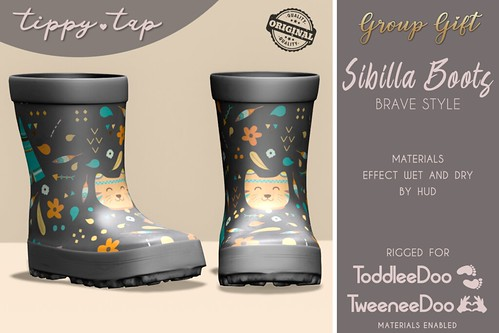 Tippy Tap - Sibilla Boots Brave AD