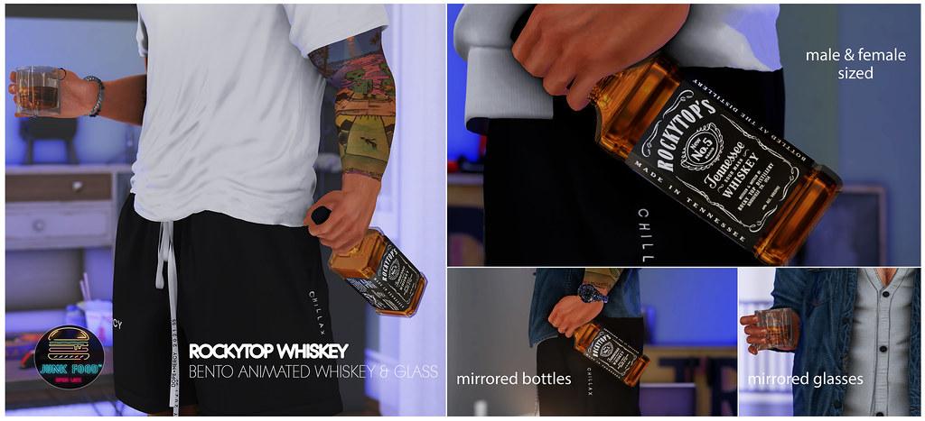 Junk Food – Rockytop Whiskey