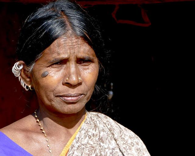 Femme de l'ethnie Kandha (Khond)