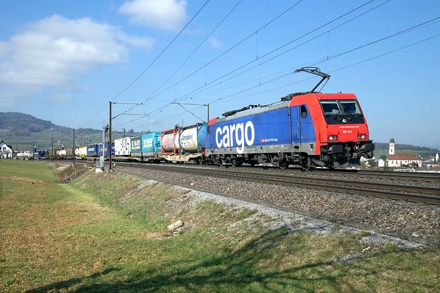 SBB Cargo 484 012 Frick