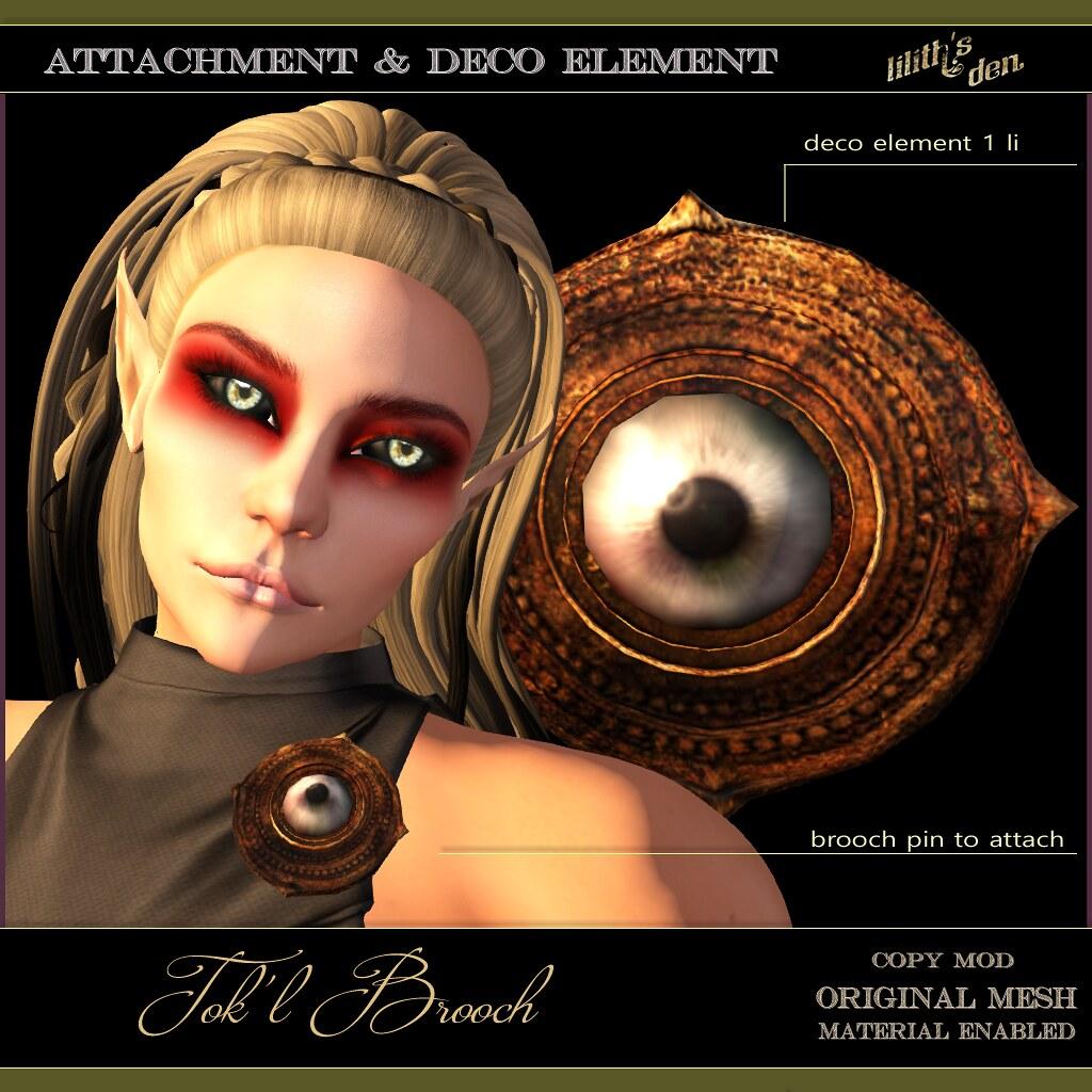 Lilith's Den – Tok'l Brooch