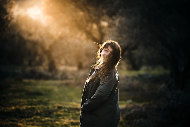 Nature light, nature woman