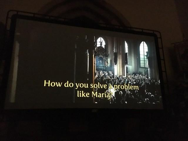 How do you solve a problem like Maria