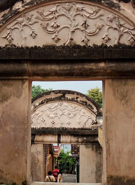 Gates next to Taman Sari Water Castle