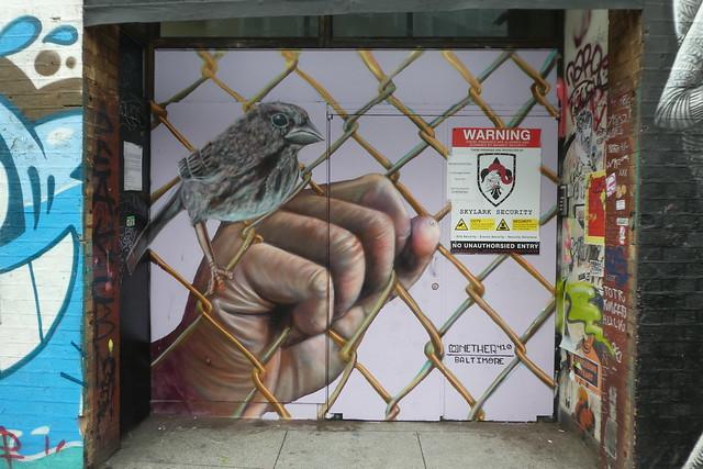 Nether 410 graffiti, Shoreditch