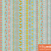 Folksy Flowers Stripes by Trilby Works