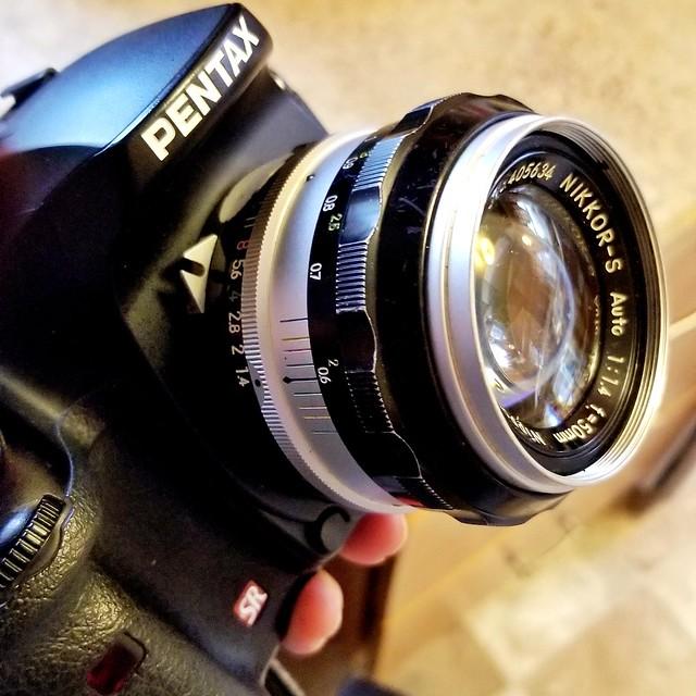 Pentax / Nikon Hack