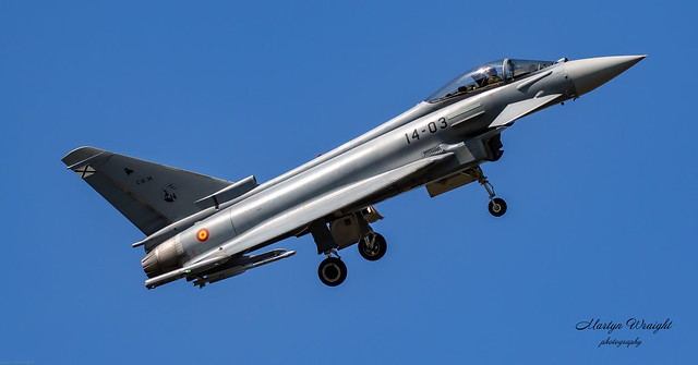 Spanish Air Force Typhoon Eurofighter
