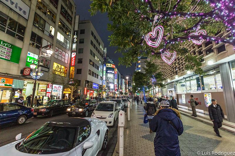 Calles de Shinbashi
