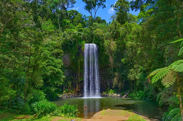 Millaa Millaa Falls, Atherton Tablelands, Far North Queensland, Australia