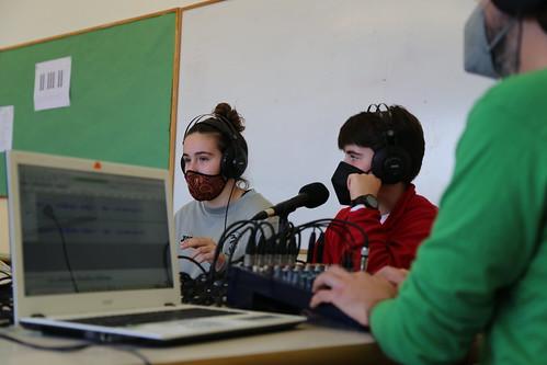 Tallers de ràdio a les escoles