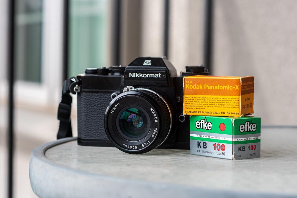 Camera Review Blog No. 133 - Nikon Nikkormat EL