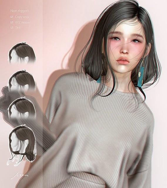 tram K0310 hair