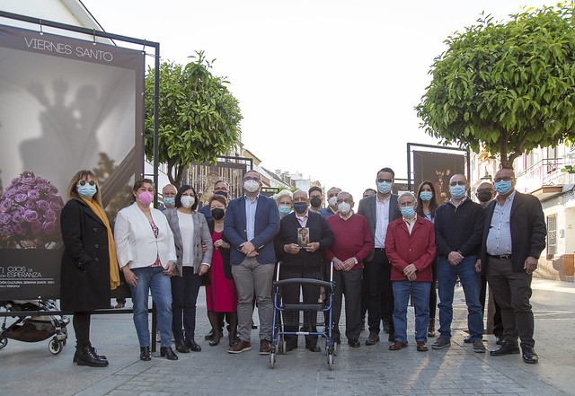 Participantes en la Exposición Cofrade