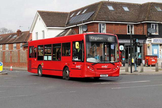 Route 481, Abellio London, 8321, YX10EBA