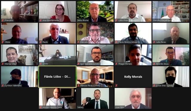 24 e 25/03/2021 - 345ª (CCCXLV) Tricentésima Quadragésima Quinta Sessão Plenária Ordinária do CFMV - Ambiente Virtual