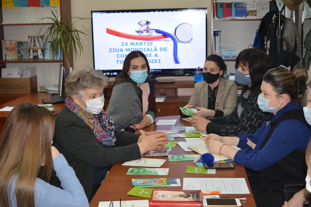 24.03.2021 Masa rotundă organizată de OTIP Orhei în contextul Zilei mondiale de combatere a tuberculozei