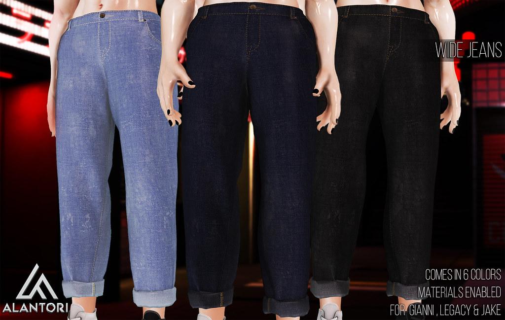 ALANTORI | Wide Jeans