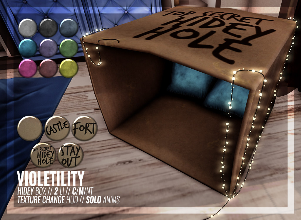 Violetility – Hidey Box
