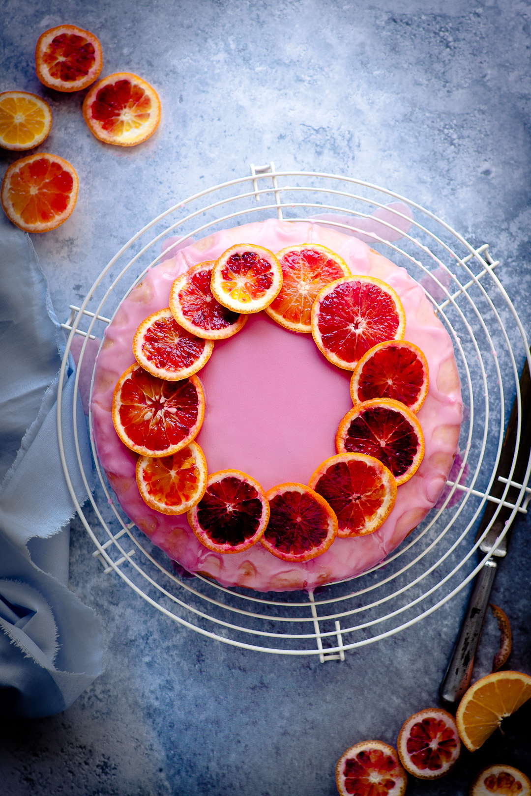 orange cake - vegan