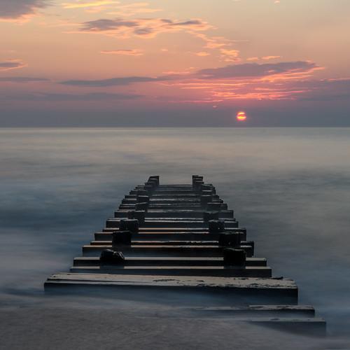 springlake newjersey jerseyshore beach sunrise longexposure