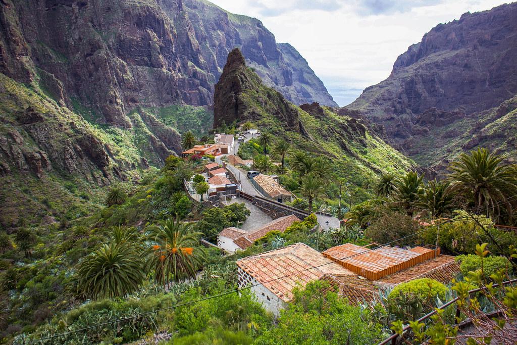 Caserio de Masca en Tenerife