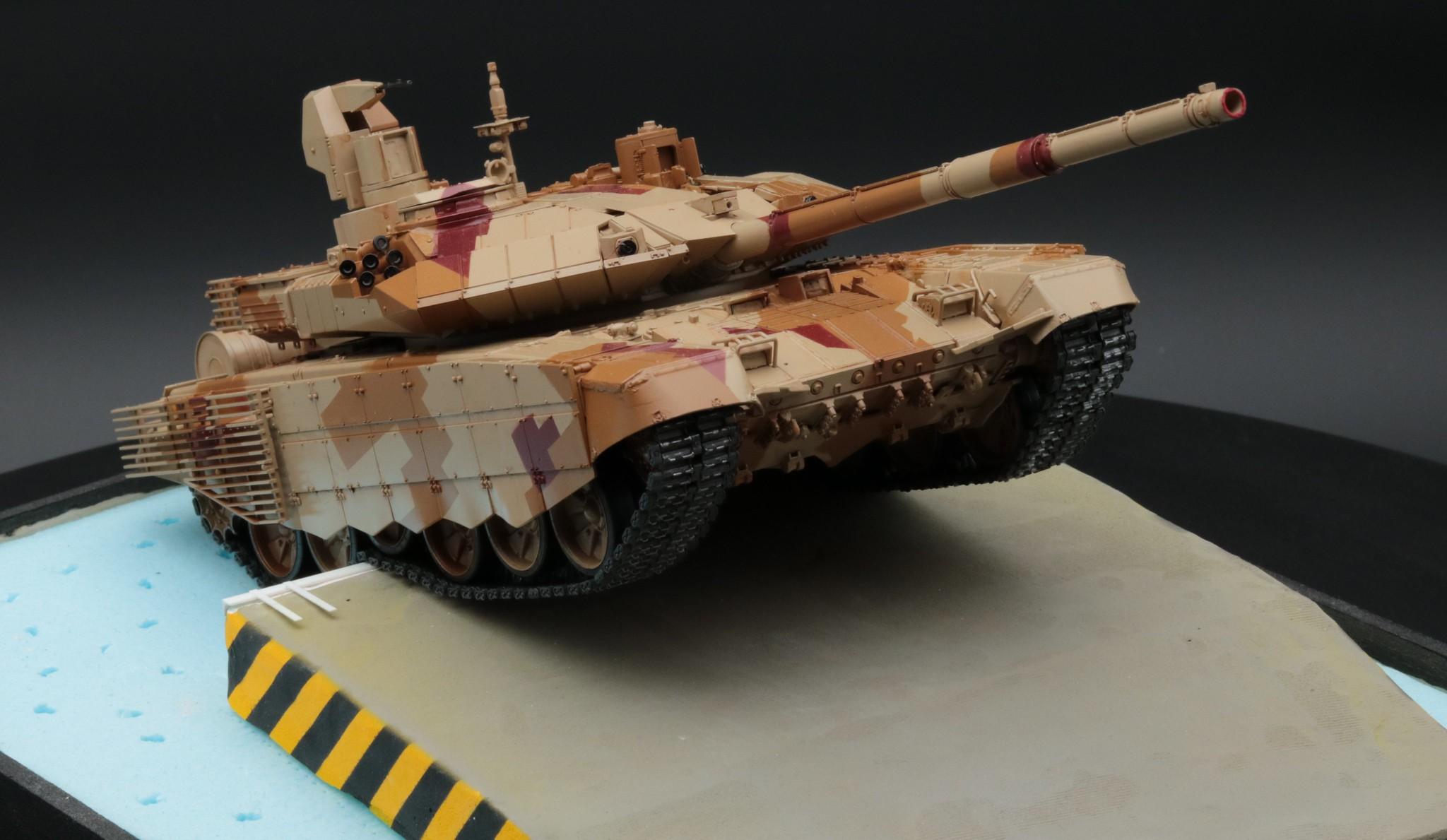T-90 MS après vieillissement