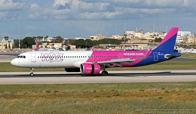HA-LVA LMML 23-03-2021 Wizz Air Airbus A321-271NX CN 8712