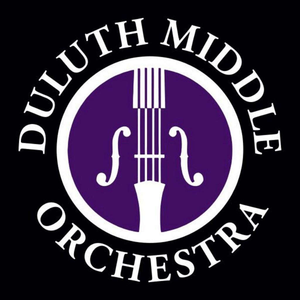 Duluth Middle School Orchestra Logo Broken Rice Kitchen LLC Tuyen Chau Client