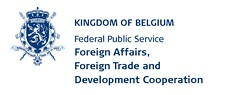Logo Belgian FPS Foreign Affaires - Exterior - Even Years - English Right - P281C
