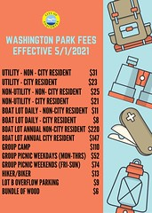 Washington Park Fee Update
