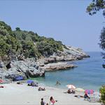 La côte est du massif du Pélion (Lambinou, Grèce)
