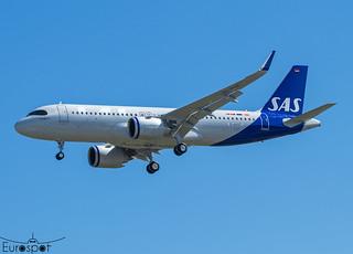 D-AVVT / SE-RUF Airbus A320-251N SAS s/n 10265 * Toulouse Blagnac 2021 *